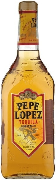 TEQUILA PEPE LOPEZ GOLD - 1L  38%