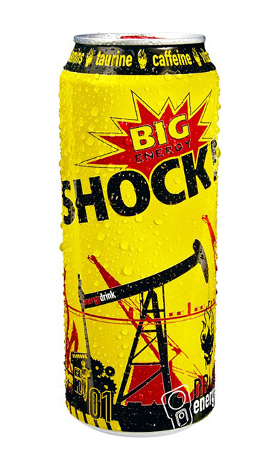 BIG SHOCK - 500ml plech