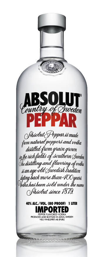 ABSOLUT  PEPPAR - 1L
