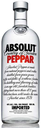 ABSOLUT PEPPAR - 0,5L