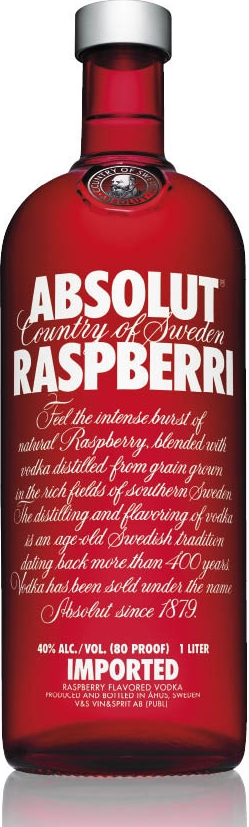 ABSOLUT RASPBERRY - 1L  40%