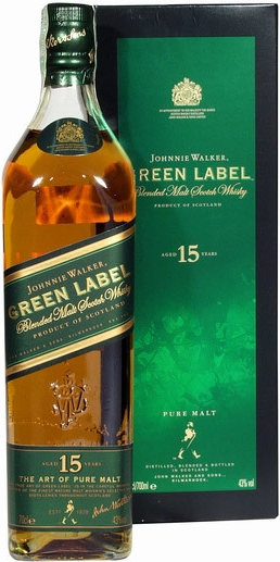 JOHNNIE WALKE GREEN - 0,7L  43%