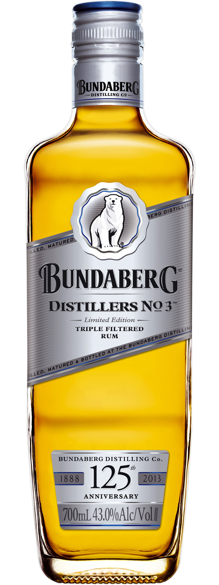 BUNDABERG No.3 - 0,7L  43%