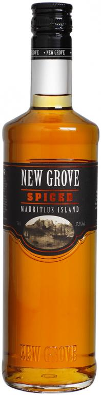 NEW GROVE SPICED - 0,7L  37,5%