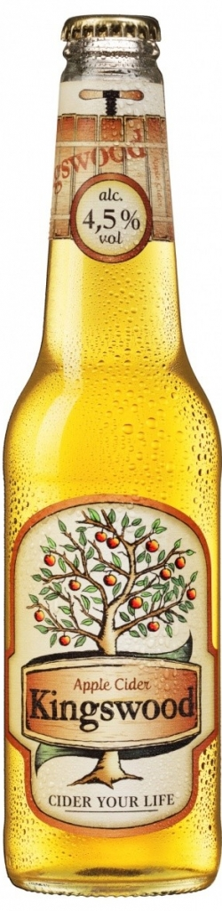 KINGSWOOD CIDER - 0,4L  4,5%