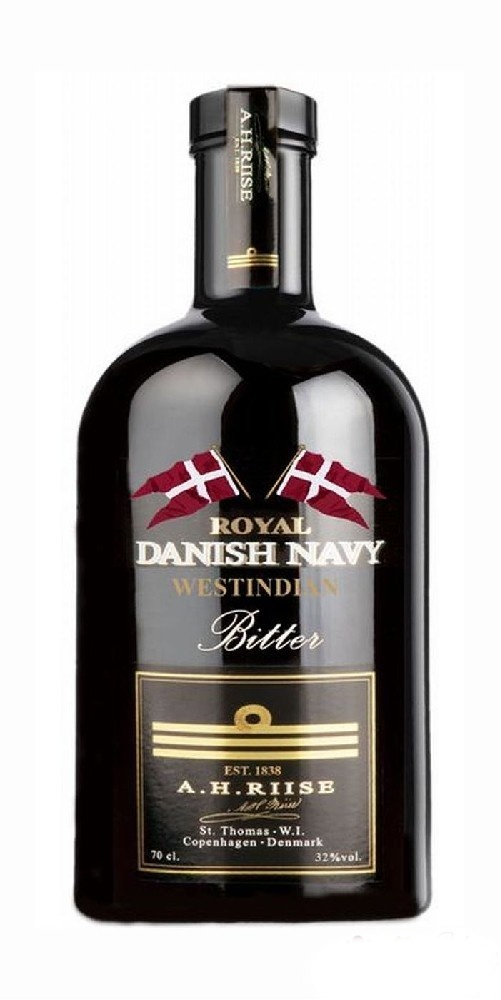 A.H.RIISE ROYAL NAVY BITTER - 0,7L  32%