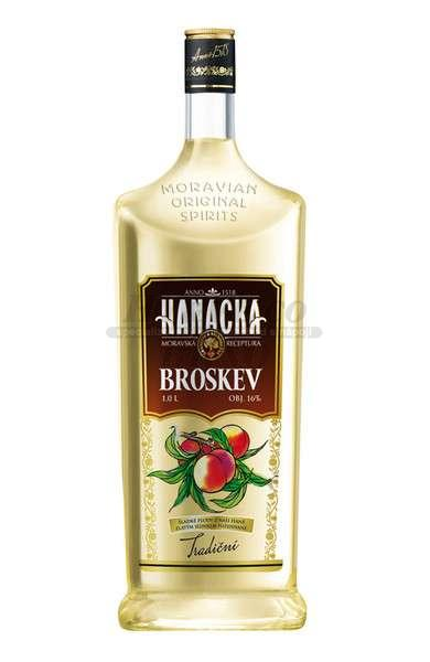 VODKA BROSKVOVÁ - 1L  16%