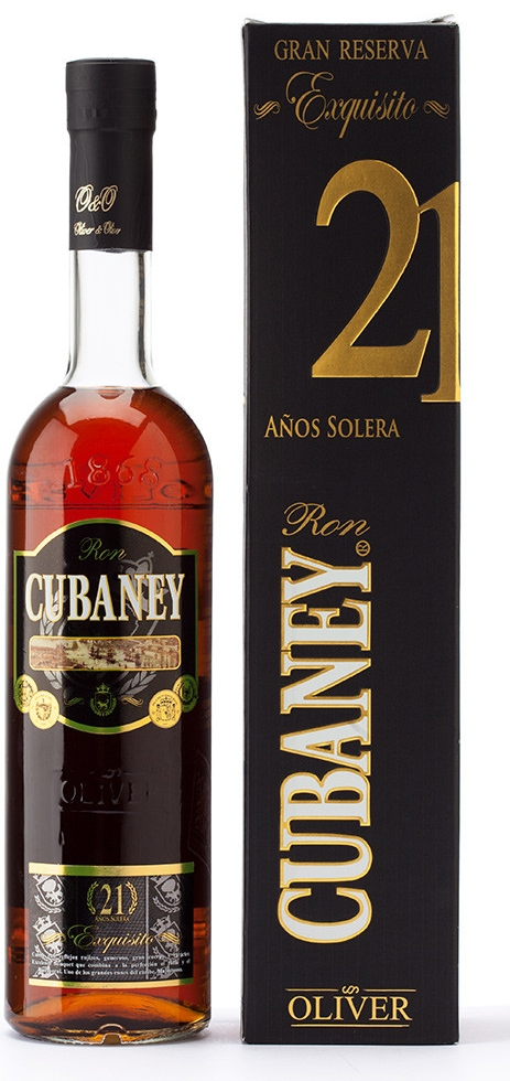 CUBANEY EXQUISITI 21yo - 0,7L  38%