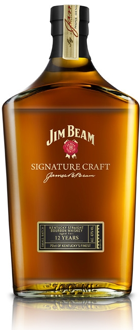 JIM BEAM SIGNATURE 12yo - 0,7L  43%