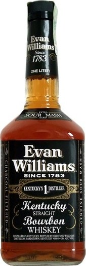 EVAN WILLIAMS BLACK LABEL - 1L  43%