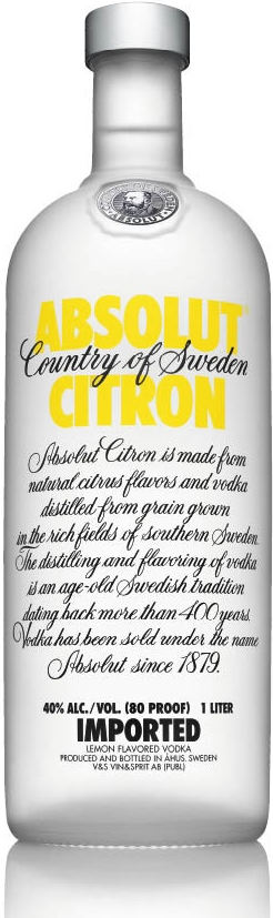ABSOLUT CITRON - 1L  40%
