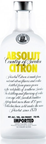 ABSOLUT CITRON - 0,7L  40%