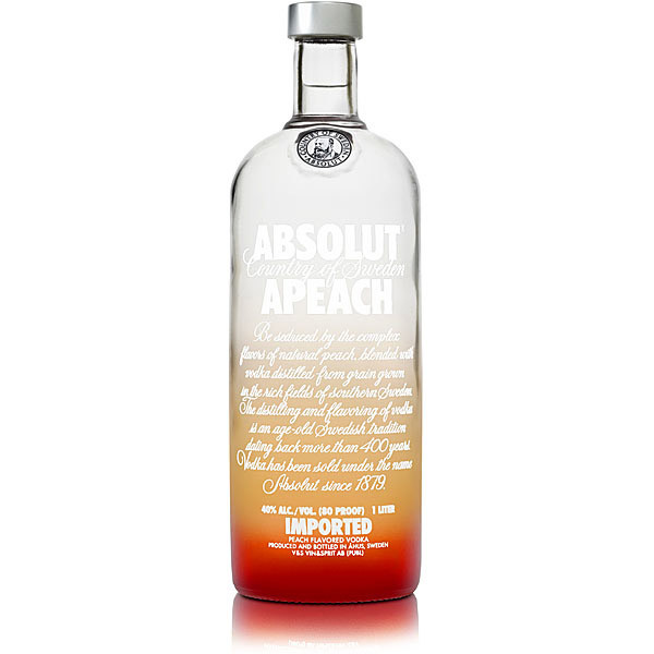ABSOLUT APEACH - 0,7L  40%