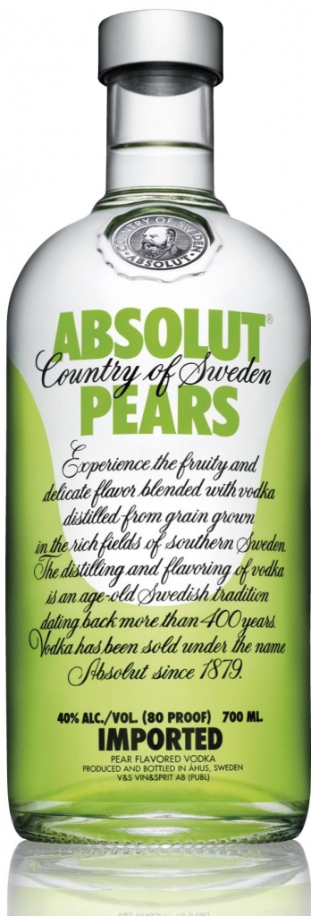 ABSOLUT PEARS - 0,7L  40%