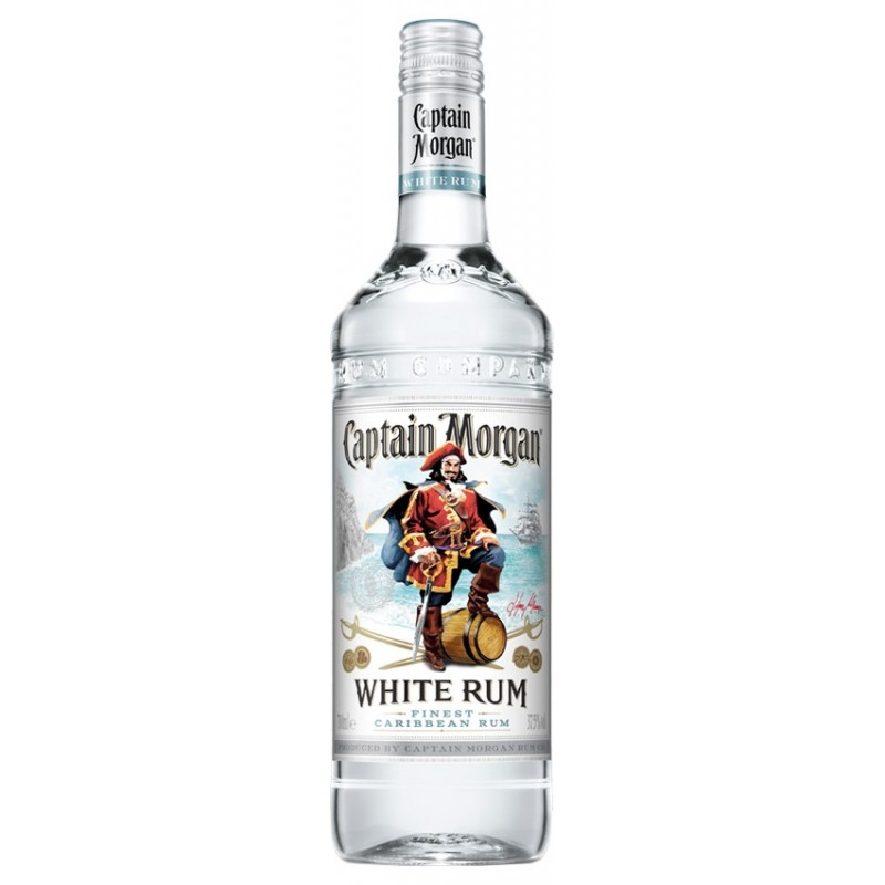 CAPTAIN MORGAN WHITE - 1L  37,5%