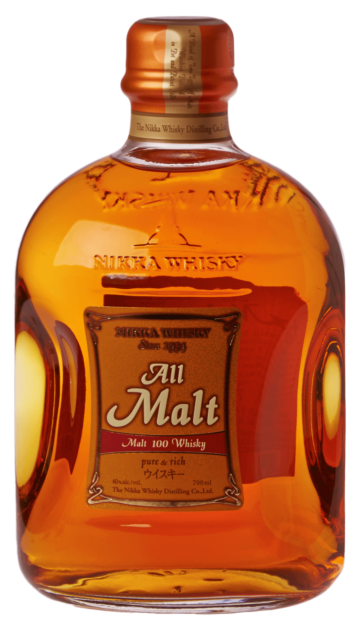 NIKKA ALL MALT - 0,7L  40%