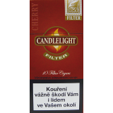 CANDLELIGHT FILTER CHERRY 10´s