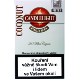 CANDLELIGHT FILTER COCONUT 20´s
