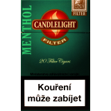 CANDLELIGHT FILTER MENTHOL 20´s