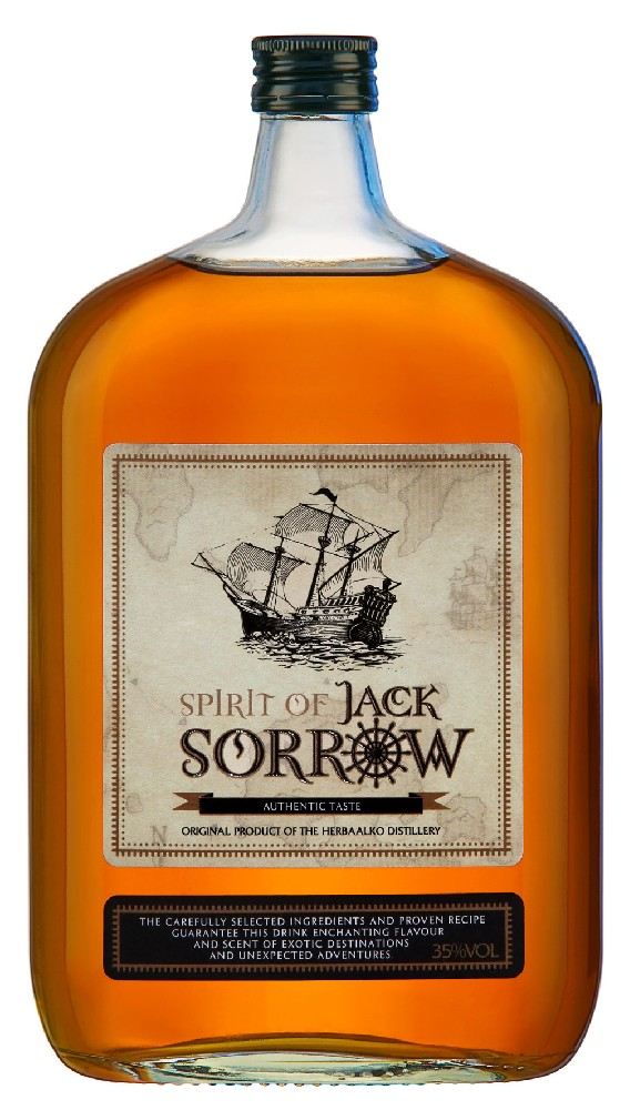 SPIRIT OF JACK SORROW - 1L  35%