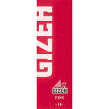 GIZEH FINE RED - 50ks