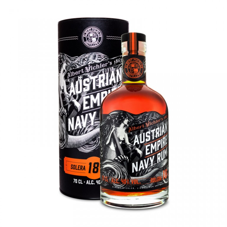 AUSTRIAN EMPIRE NAVY RUM 18yo - 0,7L  40%