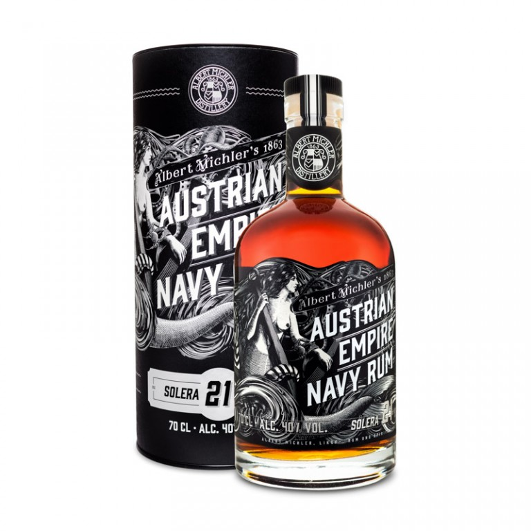 AUSTRIAN EMPIRE NAVY RUM 21yo - 0,7L  40%
