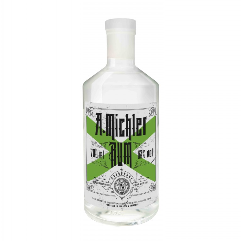MICHLERS OVERPROOF - 0,7L  63%