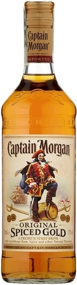 CAPTAIN MORGAN SPICED - 0,5L  35%