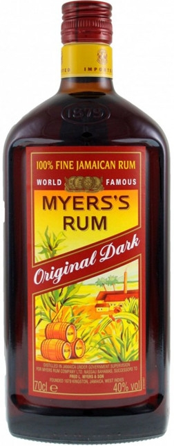 MYERS´S ORIGINAL DARK - 0,7L  40%