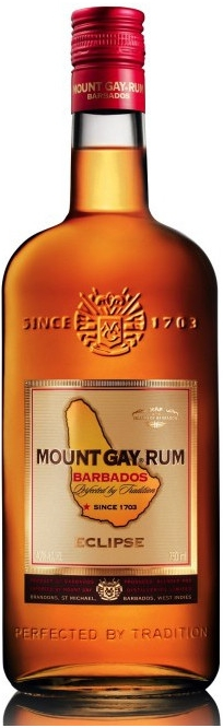 MOUNT GAY ECLIPSE BARBADOS - 1L  40%
