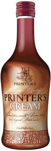 PRINTER´S WHISKY CREAM - 0,7L  15%