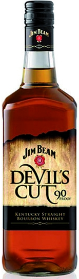 JIM BEAM DEVIL´S CUT - 0,7L  45%