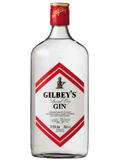 GILBEY´S LONDON DRY - 0,7L  37,5%