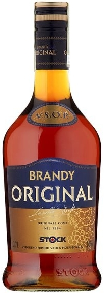 BRANDY STOCK  ORIGINAL - 0,7L  36%