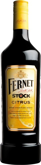 FERNET STOCK CITRUS - 0,5L   27%