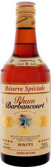 BARBANCOURT 8yo - 0,7L  43%