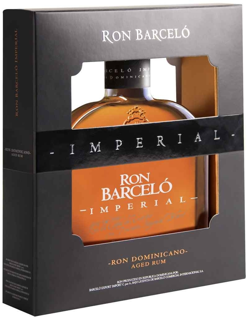 RON BARCELÓ IMPERIAL - 0,7L  38%