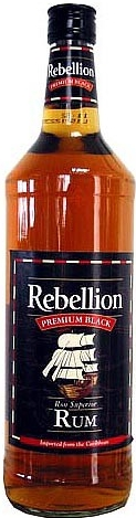 REBELLION BLACK - 0,7L  37,5%