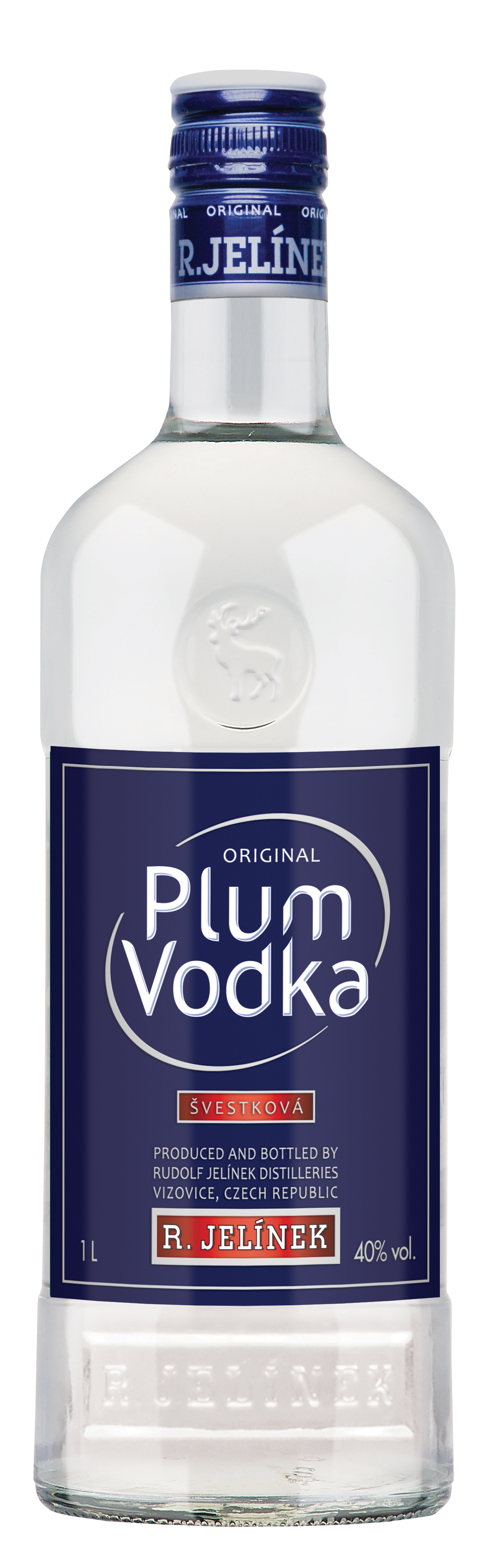 PLUM VODKA - 1L  40%