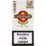 CANDLELIGHT FILTER COCONUT 10´s