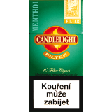 CANDLELIGHT FILTER MENTHOL 10´s
