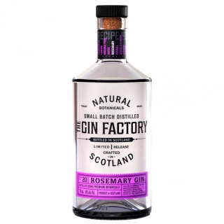 GIN FACTORY ROSEMARY - 0,7L  43.8%