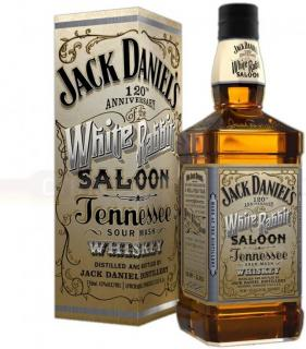 JACK DANIEL´S WHITE RABBIT SALOON - 0,7L  43%