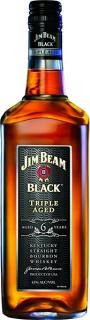JIM BEAM BLACK 6yo - 1L  43%