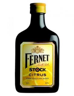 FERNET STOCK CITRUS - 0,2L   27%